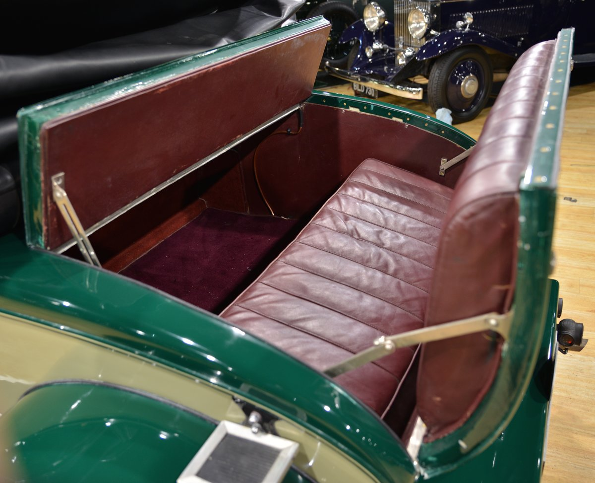 1925 SUNBEAM 20/60 SHORT CHASSIS SUPER SPORT DHC For Sale (picture 5 of 6)