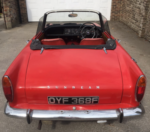 Sunbeam Alpine Roadster V Series