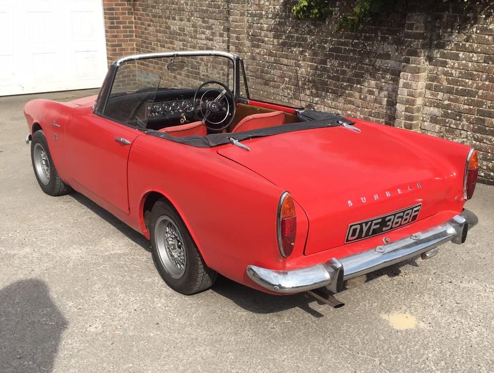 1967 Sunbeam Alpine Roadster V Series Sold