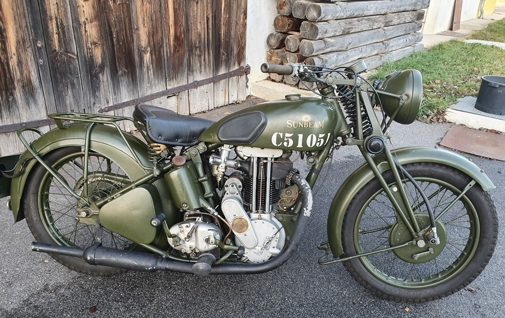 Sunbeam Mod. 9/27  1938 For Sale (picture 1 of 6)