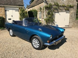 1967 Sunbeam Alpine, Lovely example