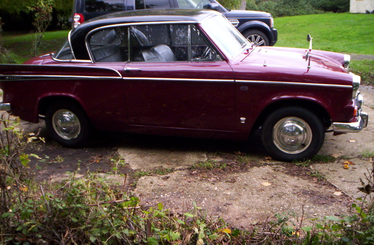 1966 Sunbeam rapier 1724cc with overdrive For Sale (picture 1 of 6)