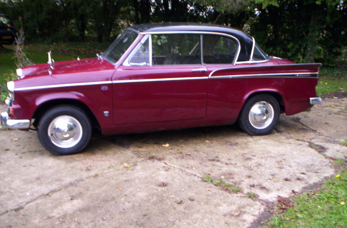 1966 Sunbeam rapier 1724cc with overdrive For Sale (picture 2 of 6)