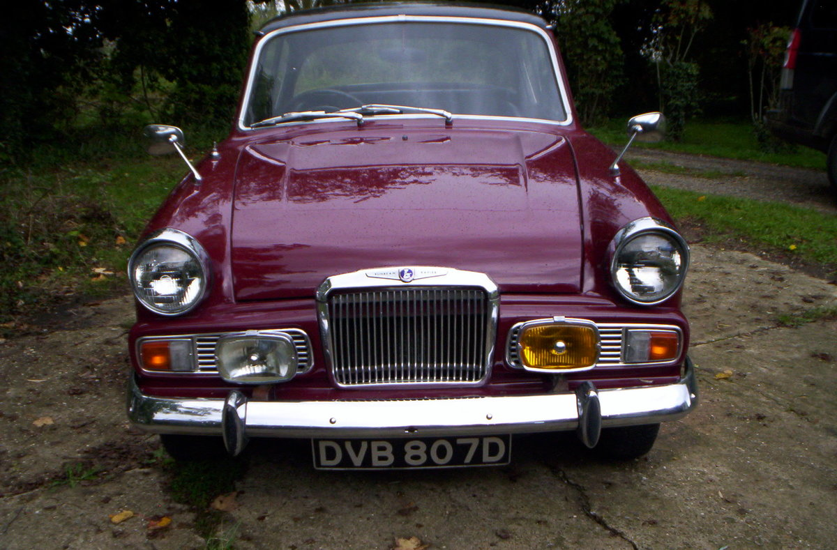 1966 Sunbeam rapier 1724cc with overdrive For Sale (picture 3 of 6)