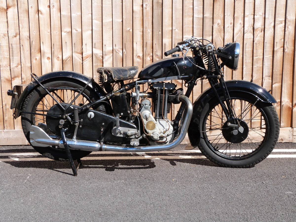 1935 Sunbeam Model 9 500cc OHV For Sale (picture 1 of 6)