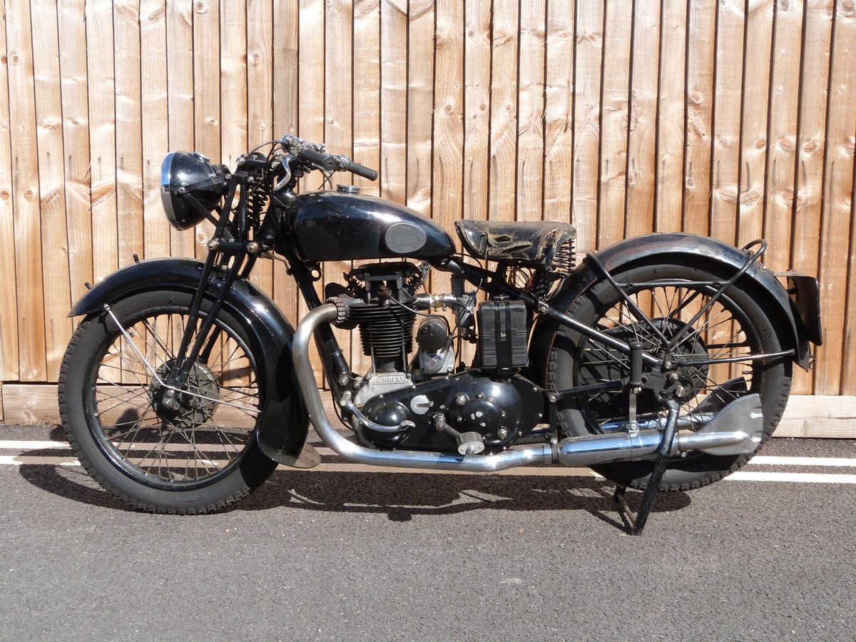 1935 Sunbeam Model 9 500cc OHV For Sale (picture 4 of 6)