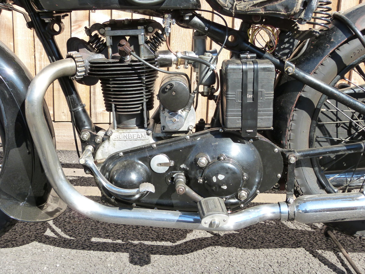 1935 Sunbeam Model 9 500cc OHV For Sale (picture 6 of 6)