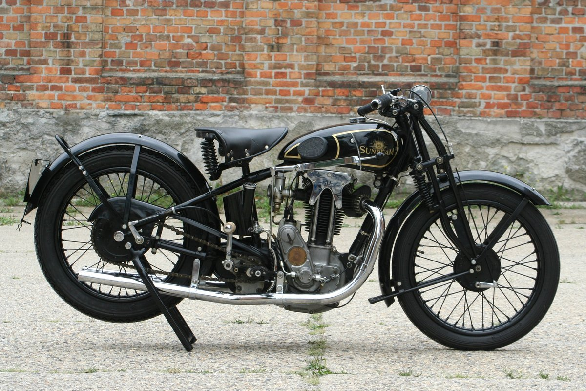 1929 Sunbeam Model 9 500cc OHV For Sale (picture 1 of 6)