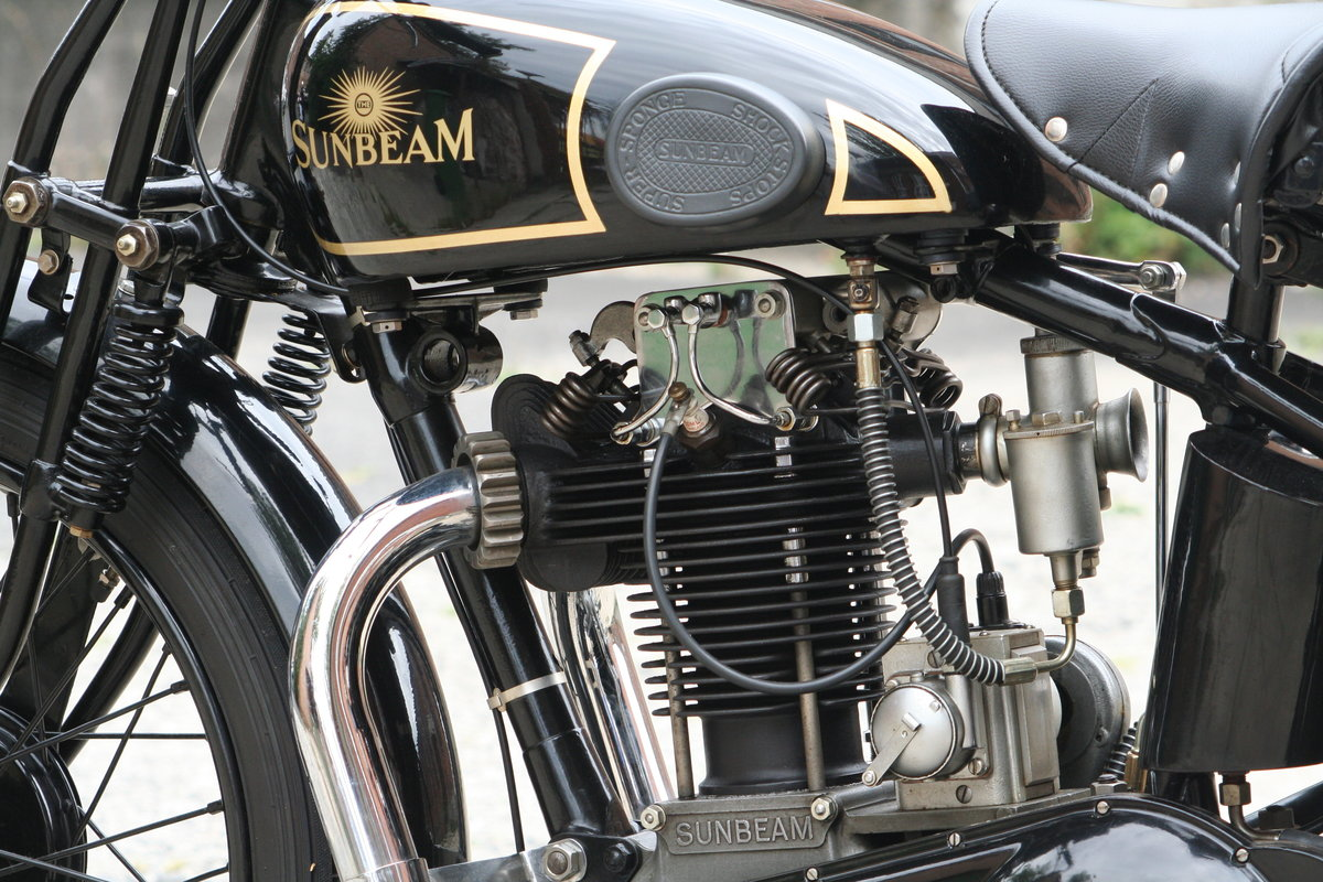 1929 Sunbeam Model 9 500cc OHV For Sale (picture 5 of 6)