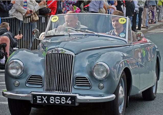1954 Restored Sunbeam Alpine MK1 Convertible For Sale (picture 2 of 6)