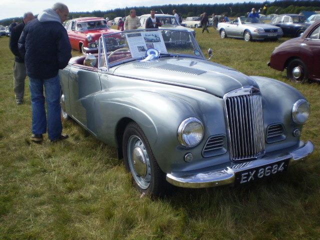 1954 Restored Sunbeam Alpine MK1 Convertible For Sale (picture 6 of 6)