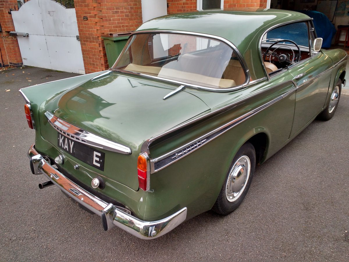 1967 Sunbeam Rapier Series V SOLD (picture 4 of 6)
