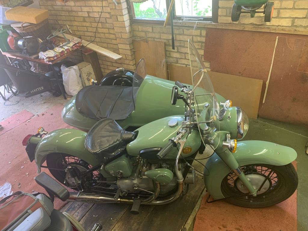1952 Sunbeam s7 outfit For Sale (picture 3 of 6)