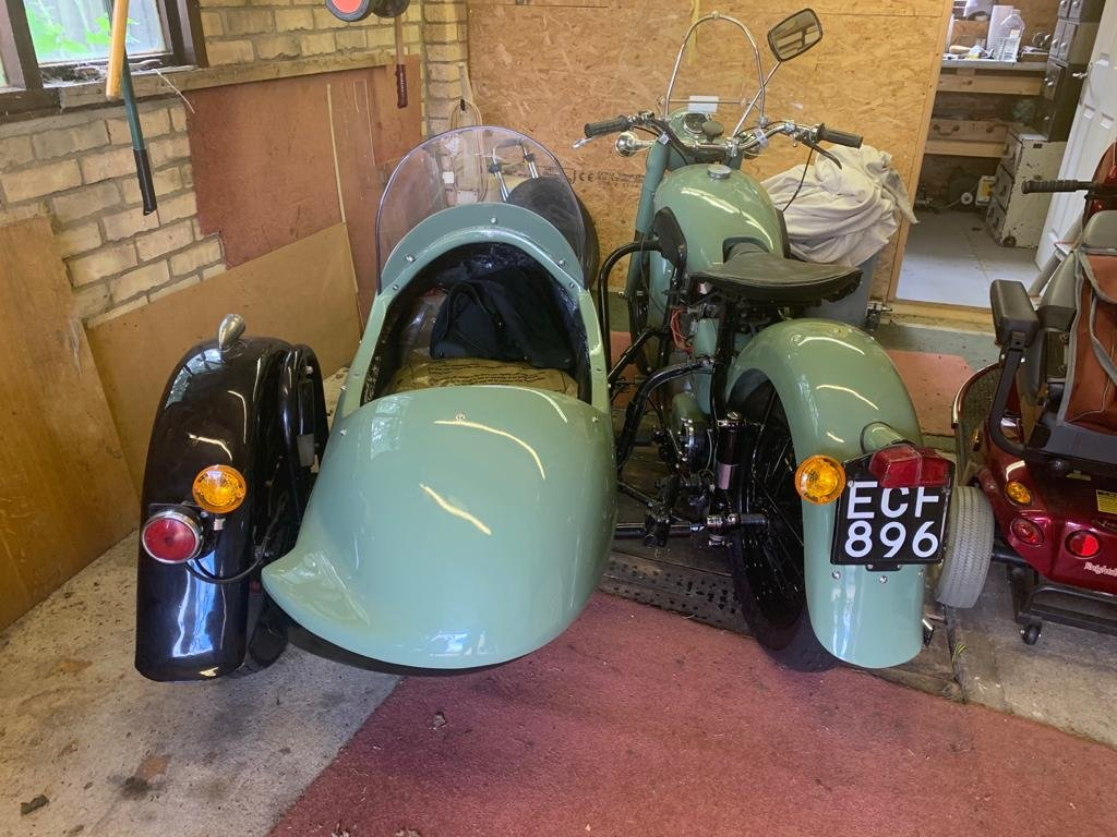 Picture of 1952 Sunbeam s7 outfit For Sale