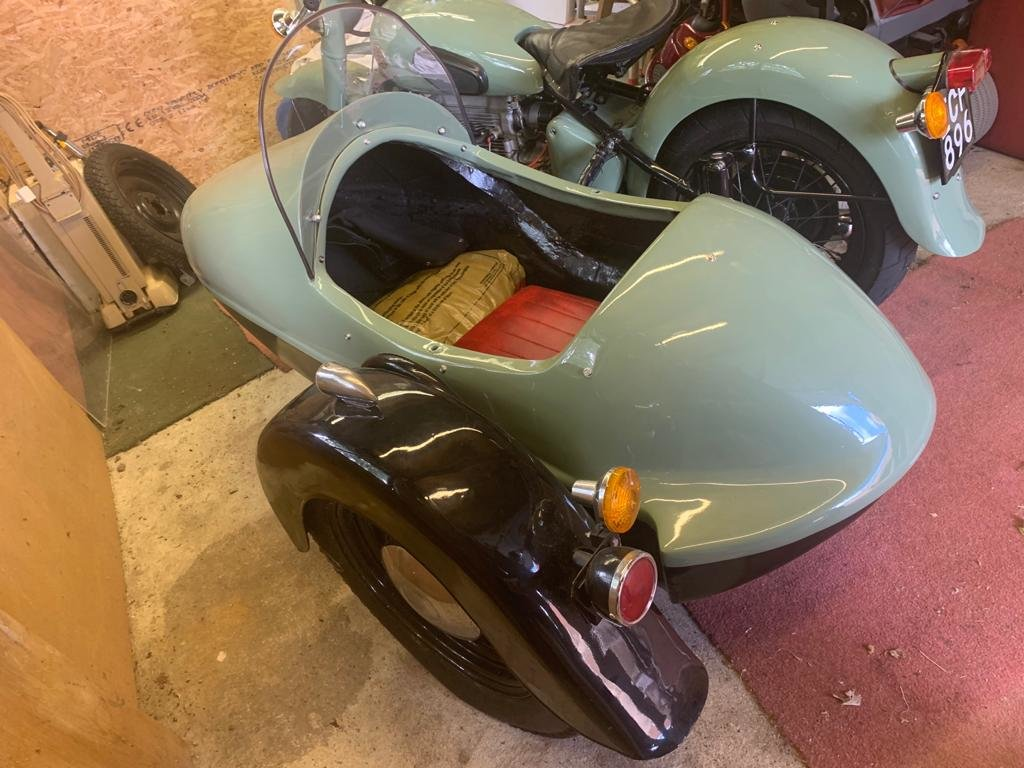 1952 Sunbeam s7 outfit For Sale (picture 5 of 6)