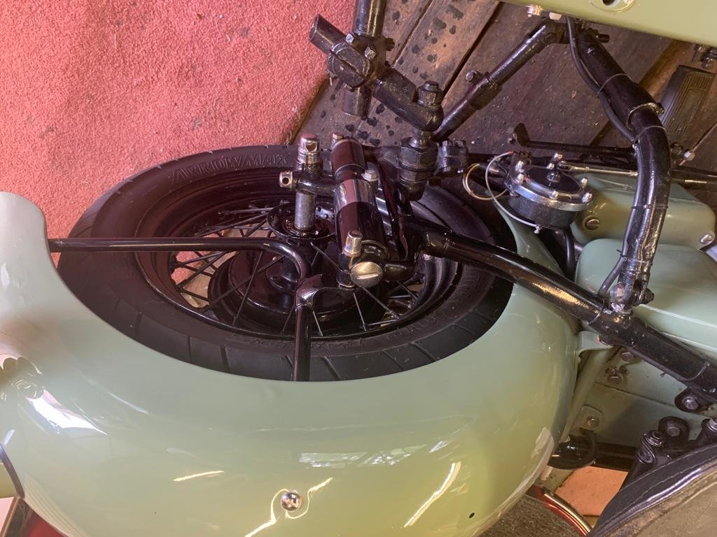 1952 Sunbeam s7 outfit For Sale (picture 6 of 6)