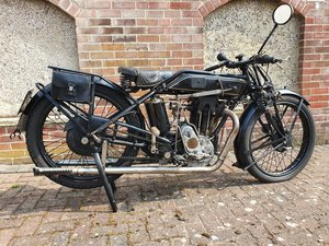 1927 Sunbeam Model 9/90, 493 cc.