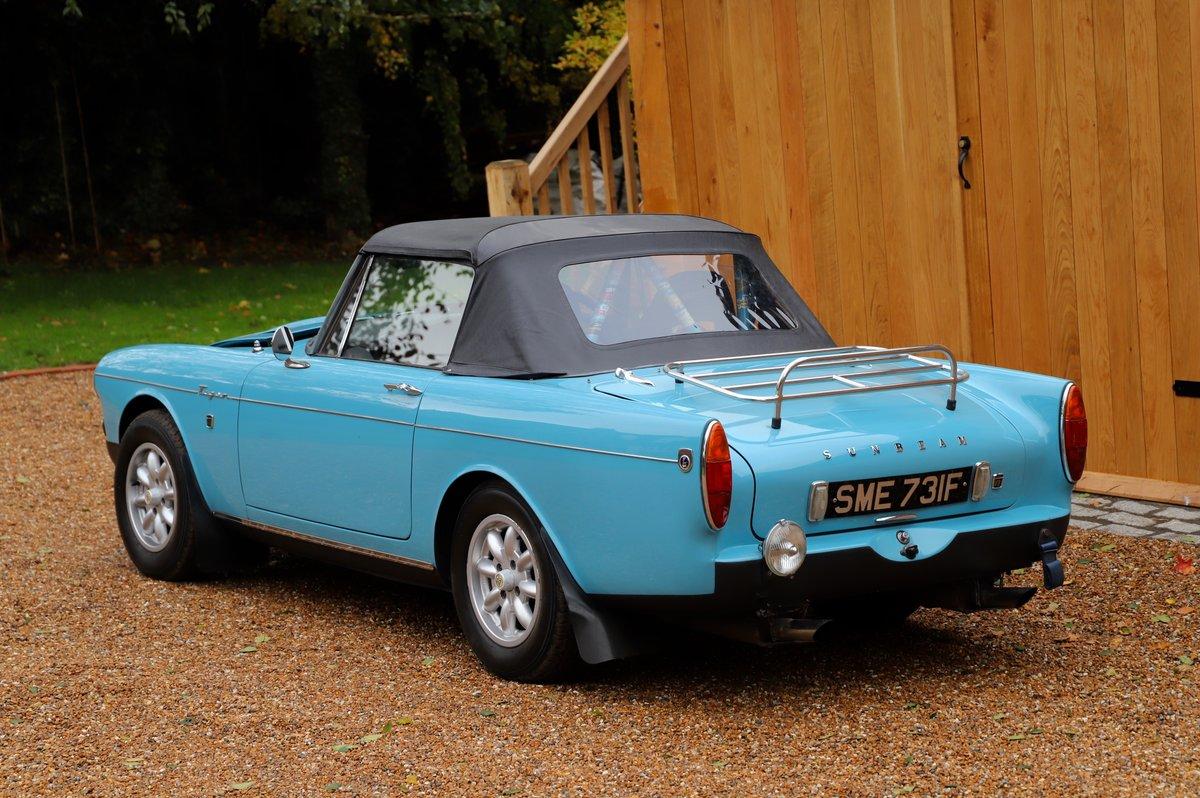Sunbeam Tiger 1967, 4.7 litre V8. Mk1 A. For Sale (picture 3 of 6)