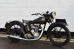 Sunbeam 1937 250 Series 2 OHV PROJECT