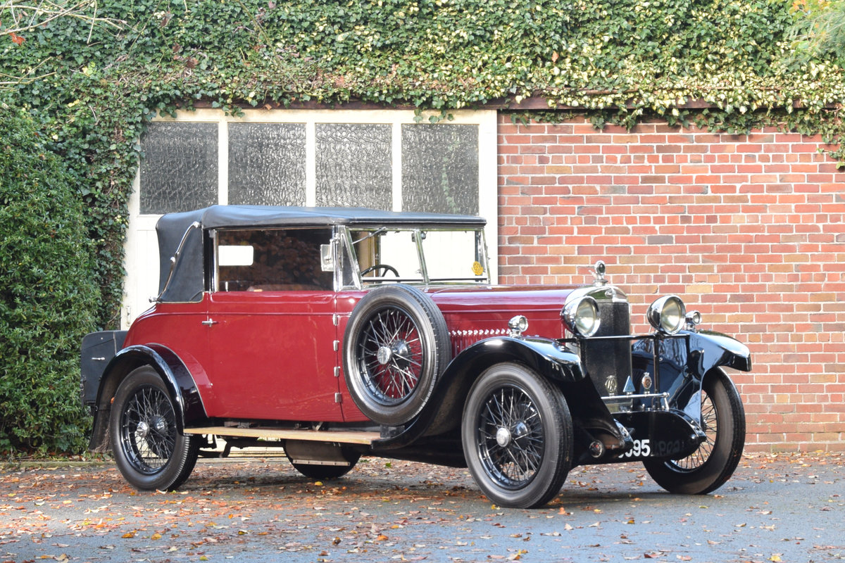 1929 Sunbeam 20.9 DHC For Sale (picture 1 of 6)