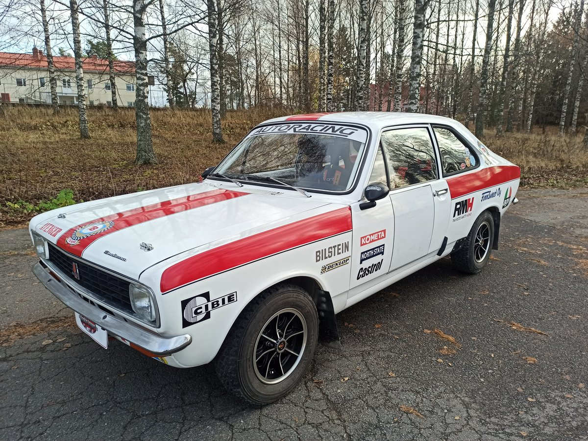 1976 Sunbeam Avenger rally car For Sale (picture 1 of 6)