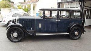 Picture of 1931 SUNBEAM 18.2 FOUR DOOR SALOON For Sale