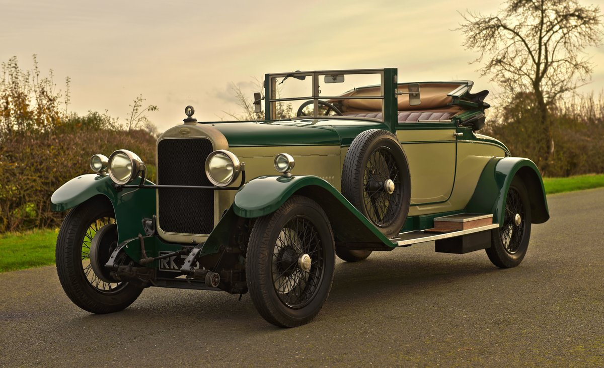 1925 SUNBEAM 20/60 SHORT CHASSIS SUPER SPORT DHC For Sale (picture 1 of 6)