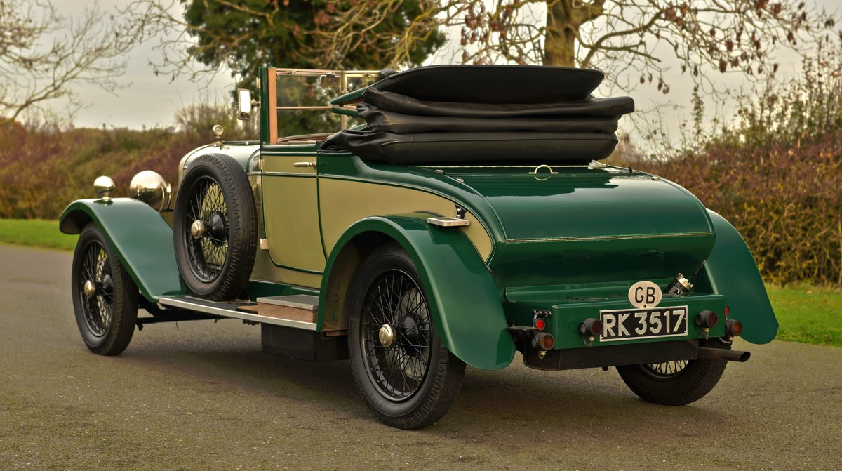 1925 SUNBEAM 20/60 SHORT CHASSIS SUPER SPORT DHC For Sale (picture 3 of 6)