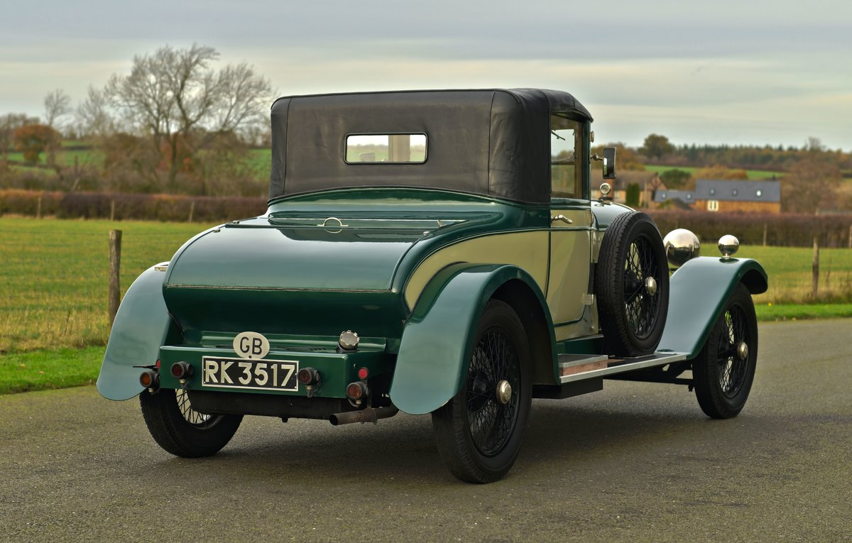1925 SUNBEAM 20/60 SHORT CHASSIS SUPER SPORT DHC For Sale (picture 4 of 6)