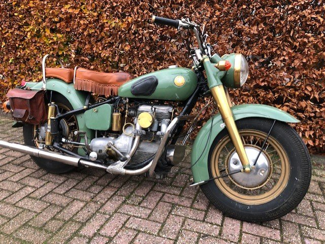 the SUNBEAM S7 DELUXE 1955 For Sale (picture 1 of 6)