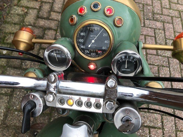 the SUNBEAM S7 DELUXE 1955 For Sale (picture 3 of 6)