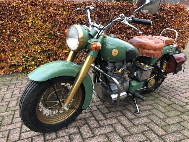 the SUNBEAM S7 DELUXE 1955 For Sale (picture 5 of 6)
