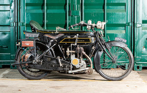 Picture of 1914 Sunbeam 3hp 499cc with Mills-Fulford sidecar
