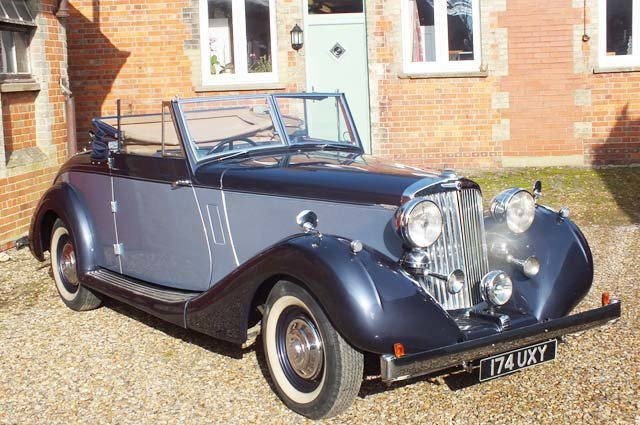 1939 A very impressive Sunbeam Talbot Grand Touring car For Sale (picture 1 of 8)