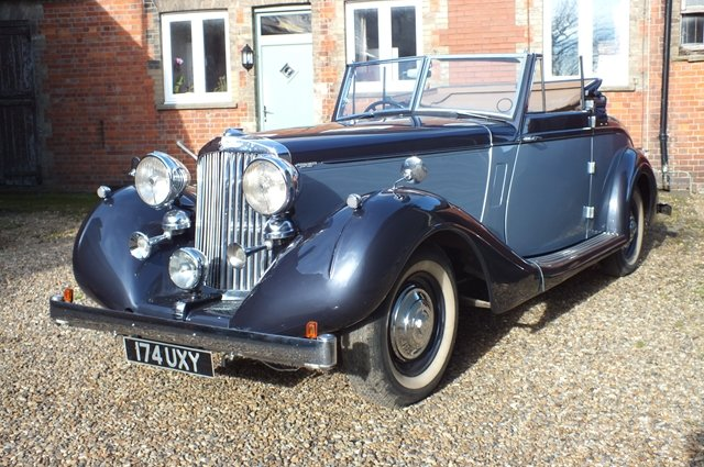 1939 A very impressive Sunbeam Talbot Grand Touring car For Sale (picture 2 of 8)