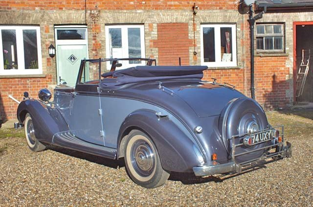 1939 A very impressive Sunbeam Talbot Grand Touring car For Sale (picture 3 of 8)