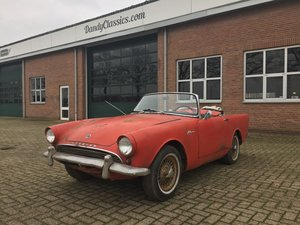 1963 Sunbeam Alpine Series 2 for restoration