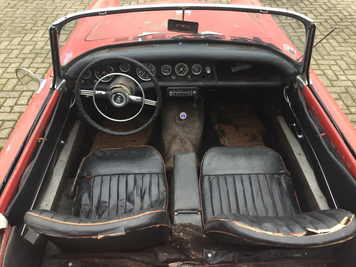 1963 Sunbeam Alpine Series 2 for restoration For Sale (picture 5 of 12)
