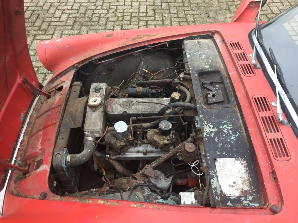 1963 Sunbeam Alpine Series 2 for restoration For Sale (picture 6 of 12)