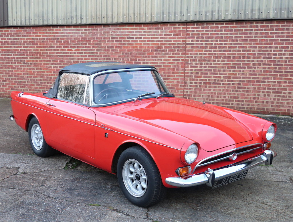 1967 Sunbeam Tiger MK1a For Sale (picture 1 of 6)