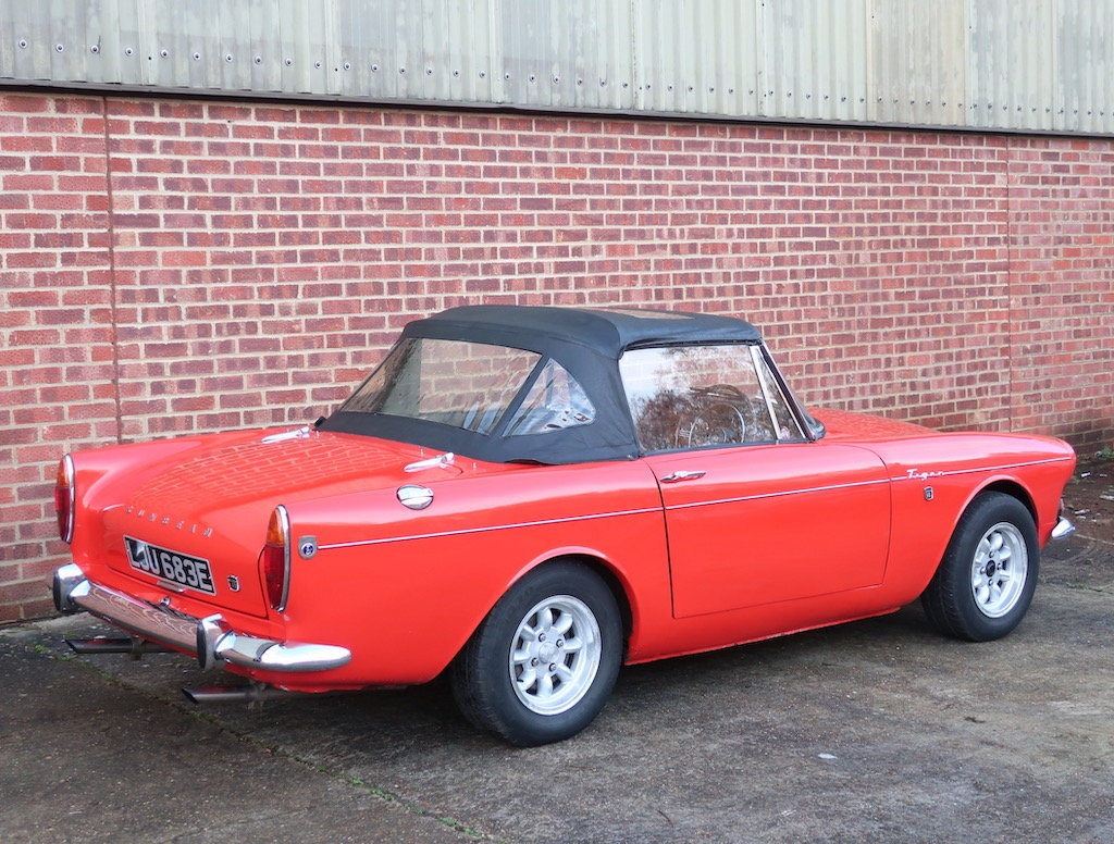 1967 Sunbeam Tiger MK1a For Sale (picture 3 of 6)