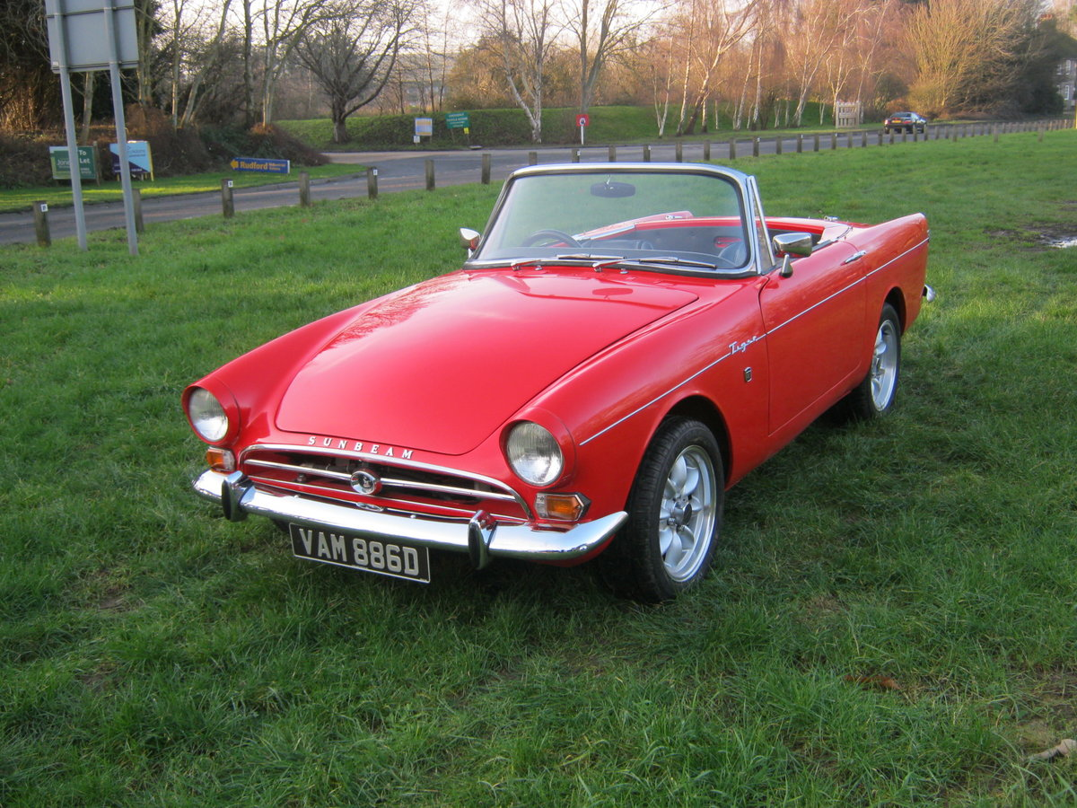 1966 SUNBEAM TIGER Mk1. STUNNING RESTORED 302 5 SPEED PAS For Sale (picture 3 of 12)