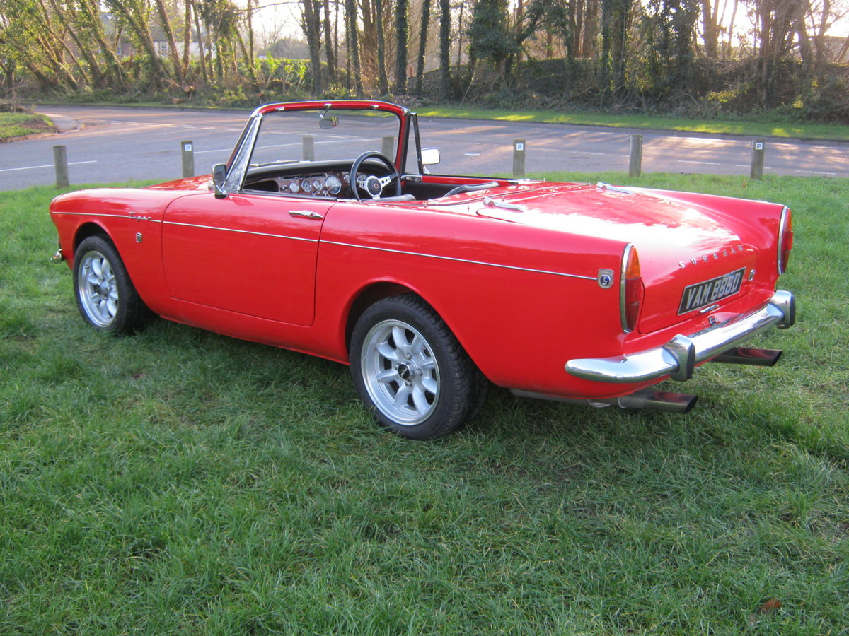 1966 SUNBEAM TIGER Mk1. STUNNING RESTORED 302 5 SPEED PAS For Sale (picture 4 of 12)