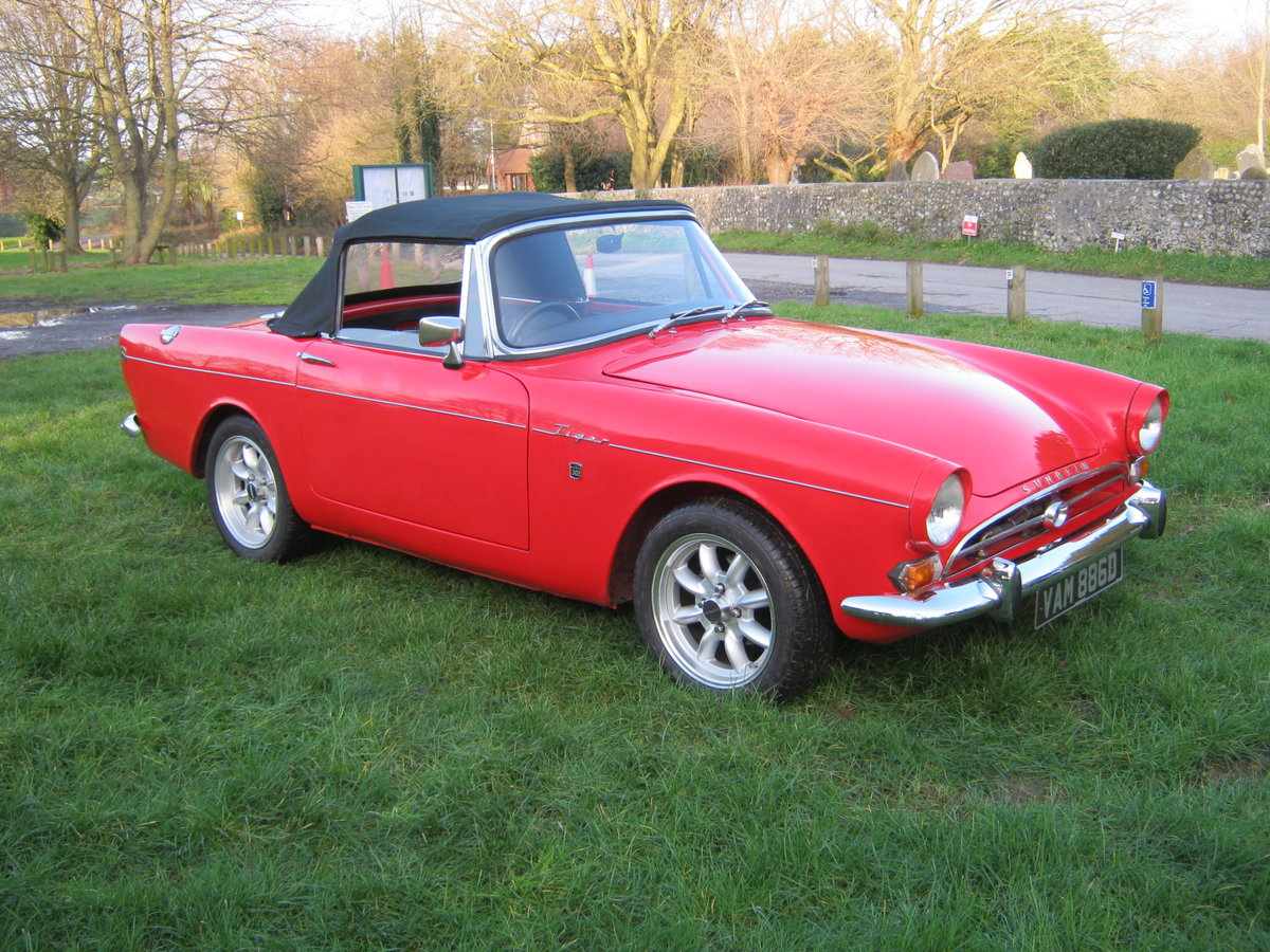 1966 SUNBEAM TIGER Mk1. STUNNING RESTORED 302 5 SPEED PAS For Sale (picture 6 of 12)