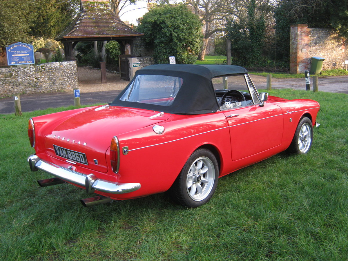 1966 SUNBEAM TIGER Mk1. STUNNING RESTORED 302 5 SPEED PAS For Sale (picture 7 of 12)