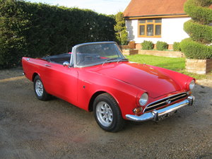Picture of 1968 SUNBEAM ALPINE S5 CARNIVAL RED. OVERDRIVE RESTORED. SOLD
