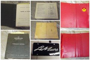 Picture of 0000 SUNBEAM MEMORABILIA FOR SALE For Sale