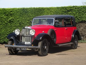Picture of 1933 Sunbeam 25hp Limousine For Sale by Auction