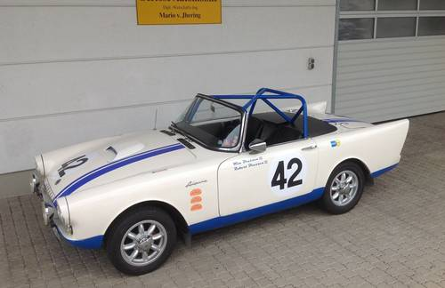 1962 Sunbeam Alpine S2 Roadster LHD with Alu Hardtop For Sale (picture 1 of 6)