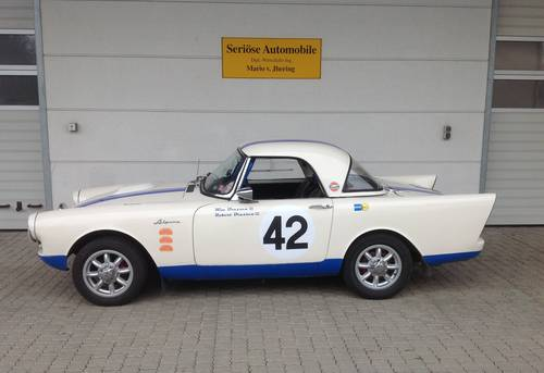 1962 Sunbeam Alpine S2 Roadster LHD with Alu Hardtop For Sale (picture 2 of 6)